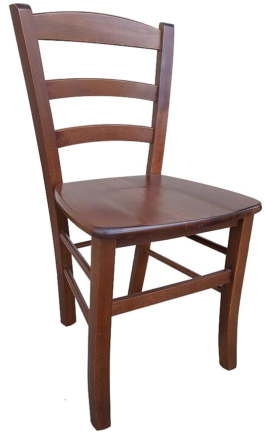 Sedia in legno massello seduta in massello ristorante casa PAESANA ...