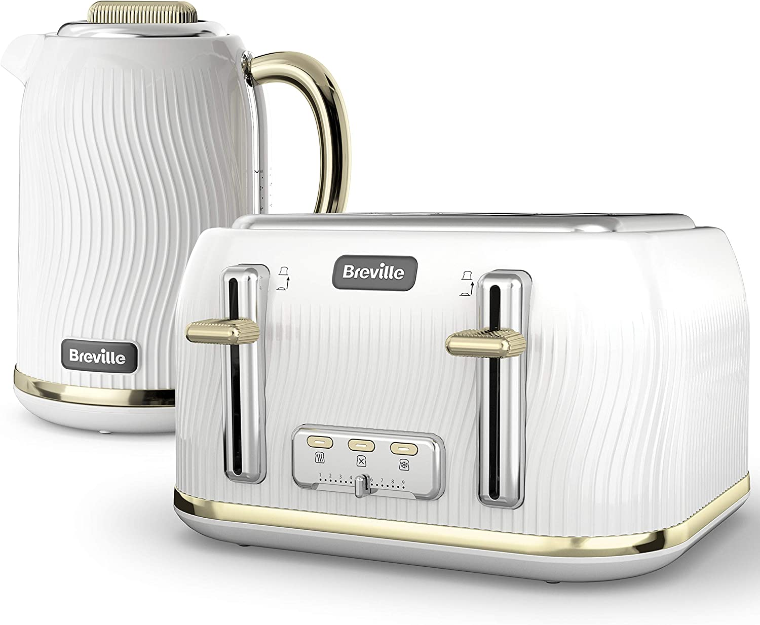 Breville Flow Kettle and Toaster Set