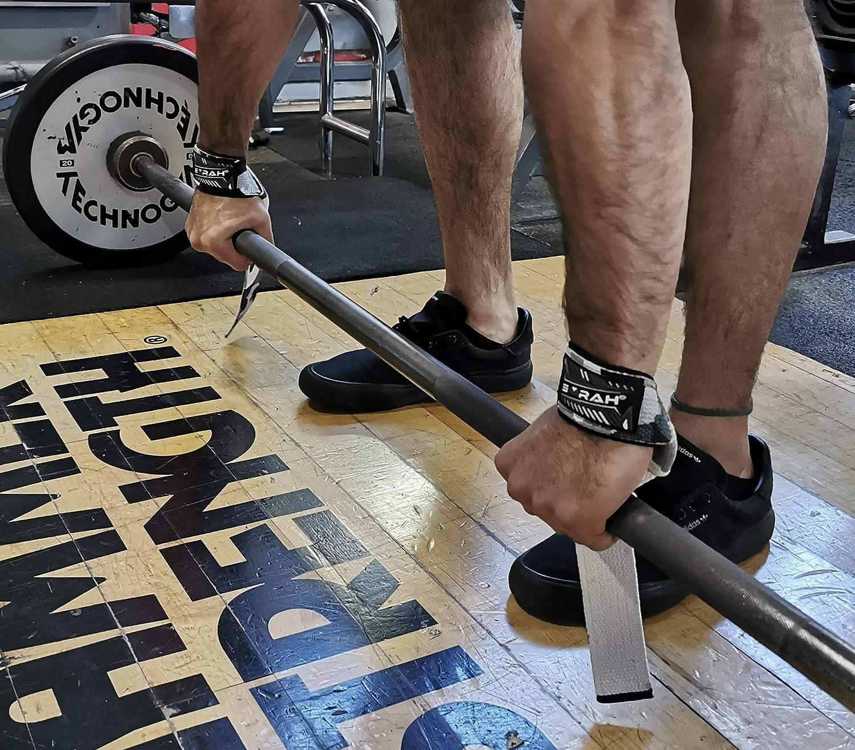 EMRAH Correas de Levantamiento de Peso Acolchado para Levantamiento de Pesas y Levantamiento de Pesas Correas de Levantamiento de Pesas Crossfit Gym Straps