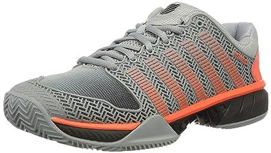 online store ce8c7 a4fc0 K-Swiss Performance Hypercourt Express HB Chaussures de Tennis Homme, Gris  (Highrise