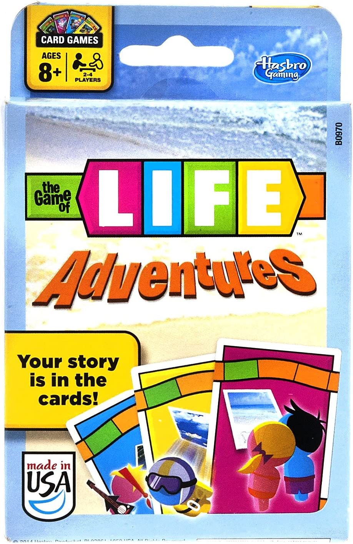 Hasbro El Juego de la Vida Aventuras Juego de Cartas: Amazon.es ...