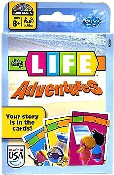 Hasbro El Juego de la Vida Aventuras Juego de Cartas: Amazon.es: Juguetes y juegos