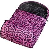Leopard Stay Warm Sleeping Bag