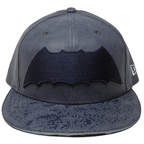 promo code f1e49 0d5b9 NEW ERA 59Fifty Hat Batman  quot THE DARK KNIGHT RETURN quot  Armor Navy  Blue Fitted