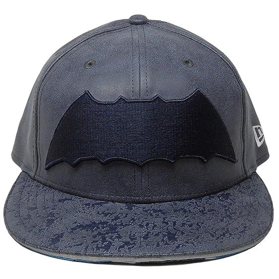 "ac192c160bdcc NEW ERA 59Fifty Hat Batman ""THE DARK KNIGHT RETURN"" Armor Navy  Blue Fitted"