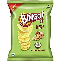 Bingo Potato Chips Cream and Onion, 52 g