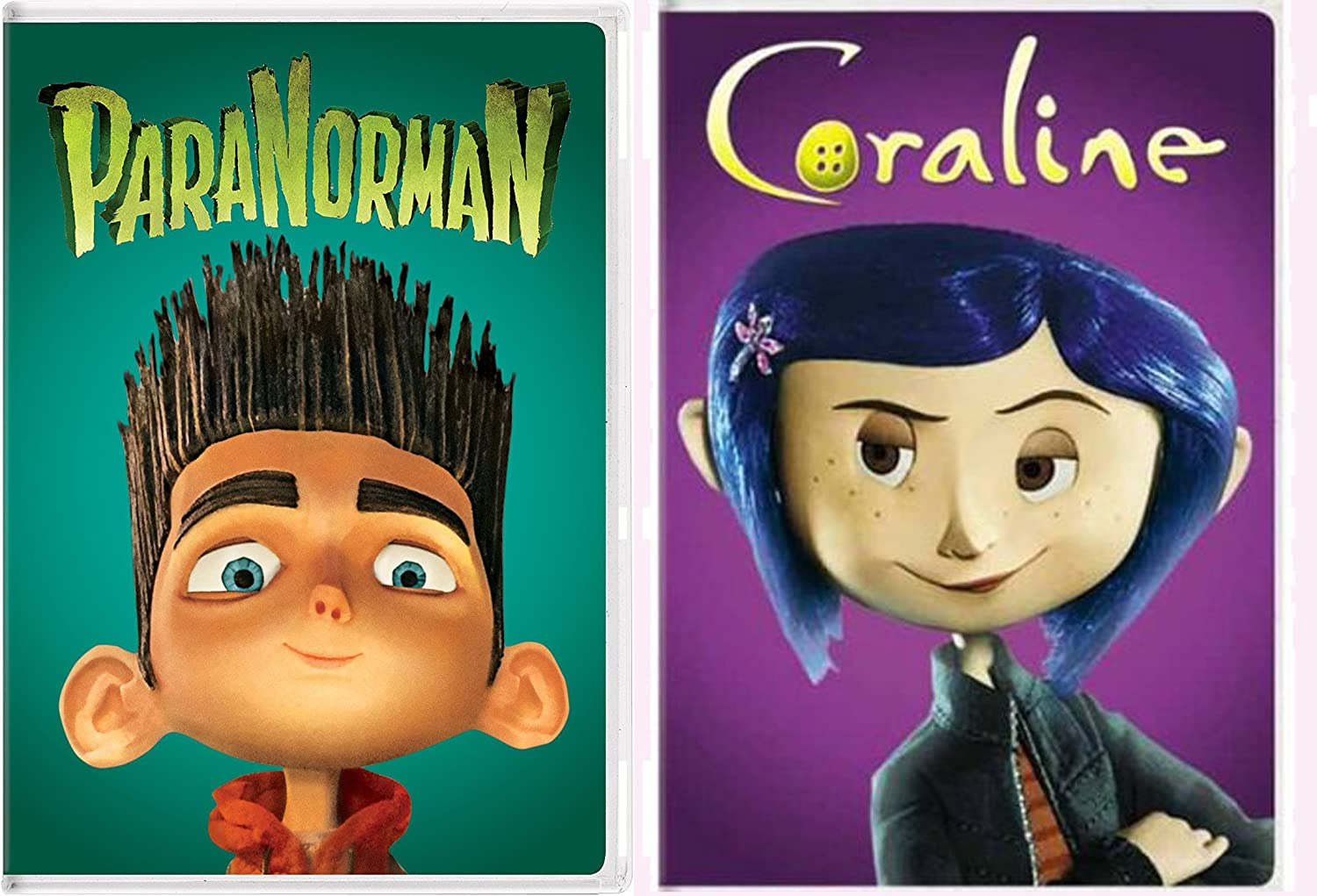 Amazon Com Coraline Paranorman 2 Dvd Henry Selik Bundle Dakota Fanning Teri Hatcher Leslie Mann Henry Selik Movies Tv