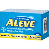 Aleve Caplets with Naproxen Sodium Pain Reliever