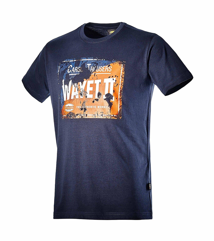 Diadora Camiseta Camiseta de Manga Corta de algodón TG. M Col ...