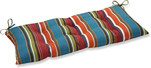 Pillow Perfect Indoor/Outdoor Westport Brown Swing/Bench Cushion
