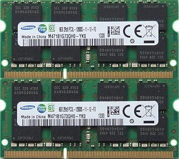 Samsung RAM Memory Upgrade DDR3 PC3 12800, 1600MHz, 204 PIN, SODIMM for 2012 Apple MacBook Pro's, 2012 iMac's, and 2011/2012 Mac Mini's (16GB kit, 2 x 8GB) Memory at amazon