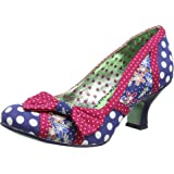 Poetic Licence by Irregular Choice Women's Shake It Closed-Toe Pumps
