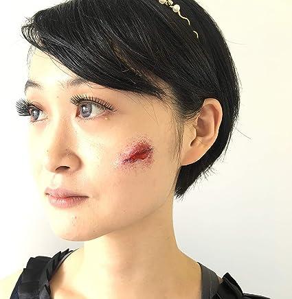 2014 GUIRCA Cicatrice effetto taglio del collo accessori halloween mod