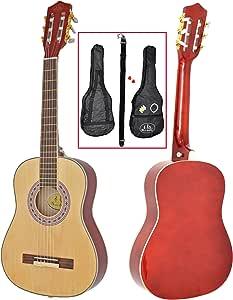 ts-ideen 1/2 - Guitarra acústica infantil (para niños de 6 a 9 ...
