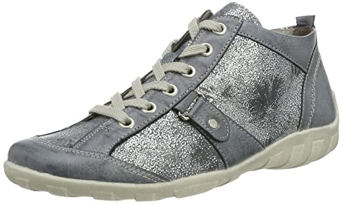 Womens R3471 Hi-Top Sneakers, Grey Remonte