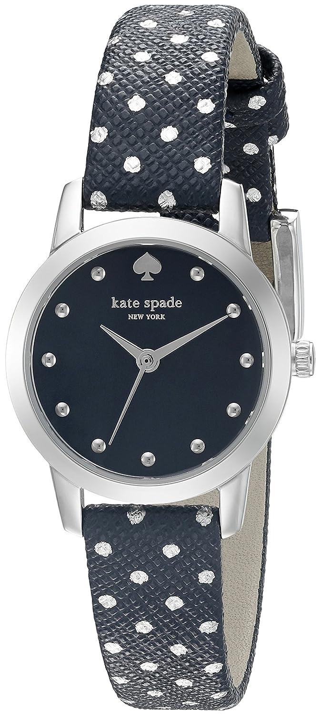Kate Spade New York Metro Mini Polka Dot Damen-Armbanduhr 25mm Armband Leder Multicolor Quarz KSW1023