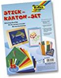 folia 23419 - Stickkarton - Set, 25 teilig