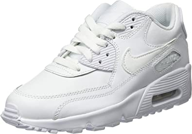 Nike Big Kids Air Max 90 Leather Running Shoes