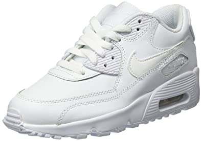 799c2ad83c416d Nike Unisex-Kinder Air Max 90 Leather (Gs) Sneaker Mehrfarbig (White ...