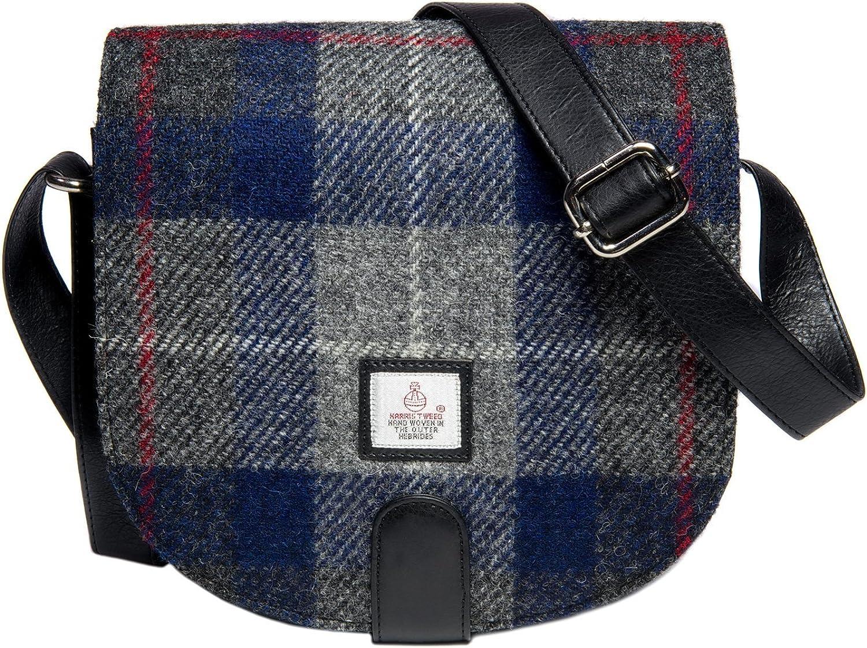 Genuine Harris Tweed Cloudberry Ladies Small Cross Body Bag