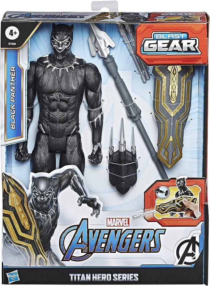 Marvel Avengers-PANTERA NERA SERIE TITAN HERO Action Figure