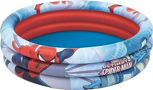 Piscina Hinchable Infantil Bestway Spiderman 122 cm: Amazon.es: Juguetes y juegos
