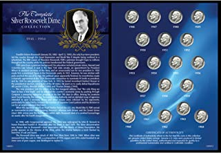 product image for Complete Silver Roosevelt Dime Collection 1946-1964
