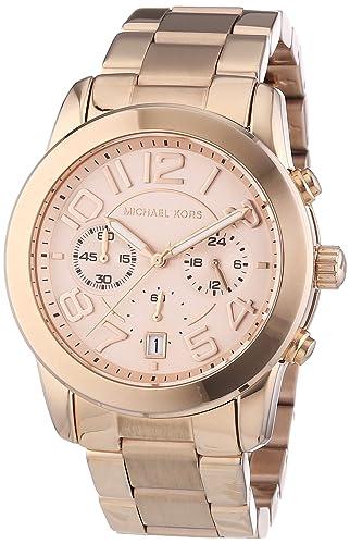 Michael Kors MK5727 - Reloj de Cuarzo para Mujer, con Correa de Acero Inoxidable, Color Dorado: Michael Kors: Amazon.es: Relojes