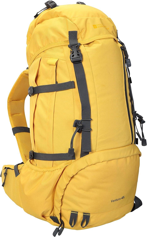Mountain Warehouse Ventura 40L Rucksack Adult Travel Backpack