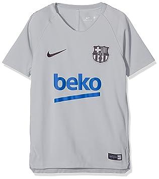185be4ef5 Nike Children s Fc Barcelona Breathe Squad T-Shirt  Amazon.co.uk ...