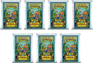 FoxFarm FX14000 Ocean Forest Plant Garden Potting Soil Mix 40 Pounds (7 Pack)