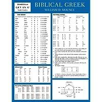Biblical Greek Laminated Sheet