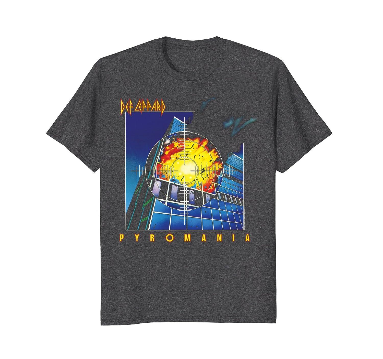 Def Leppard - Pyromania T-Shirt-fa