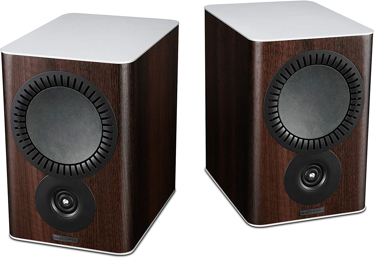 Altavoces para estantería Mission QX-2 Walnut Pearl