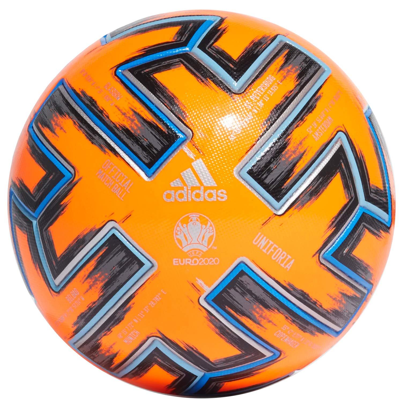 adidas UNIFO Pro WTR Soccer Ball, Mens, Solar Orange/Black/Glory ...