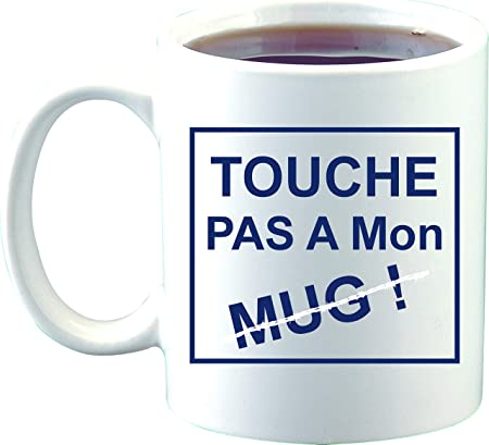 Croissant Sublimagecreations Mug Touche Pas à Mon mug, mug Humour, mug GK-41