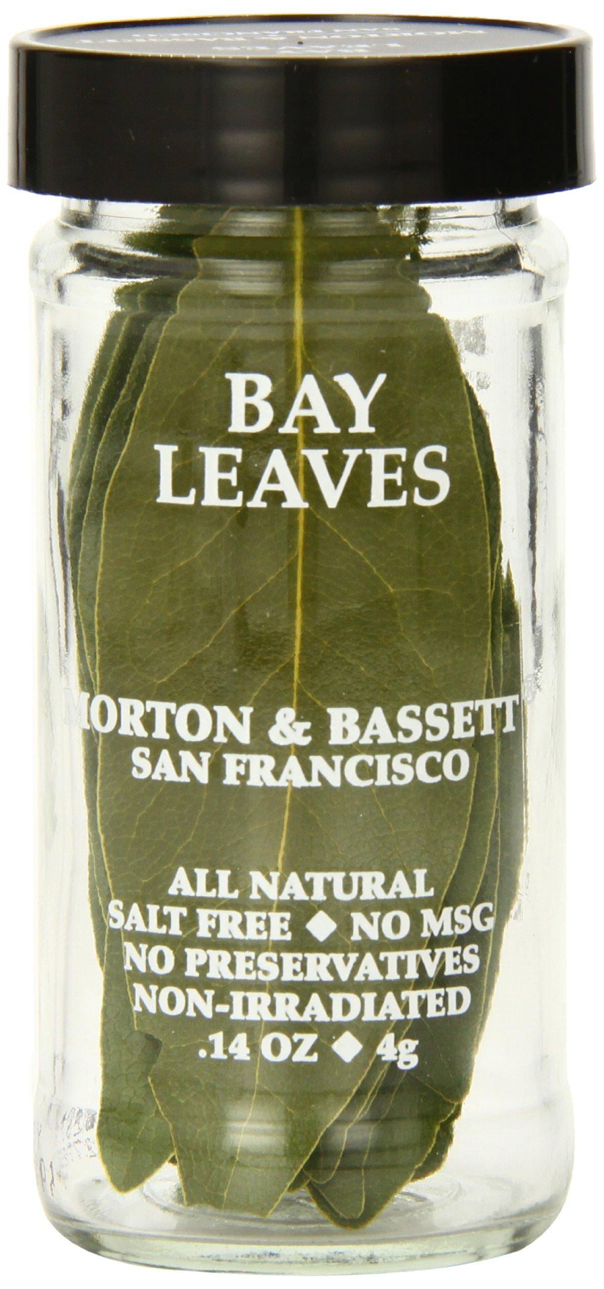 Morton & Bassett Bay Leaves.14-Ounce Jars (Pack of 3)