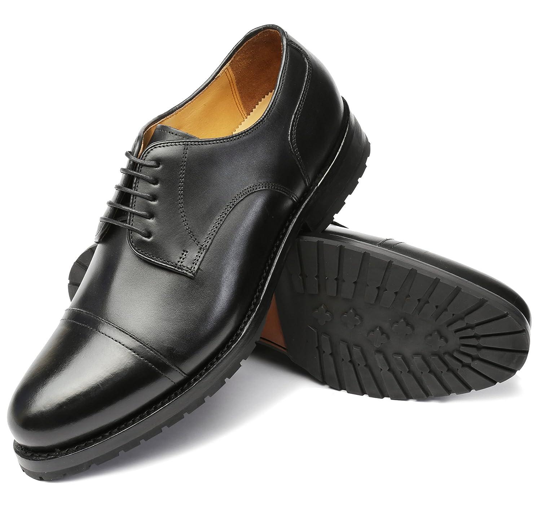Gordon & BrosGordon & Bros. Levet - Schuhe - Braun - Gummisohle - 3297 - Zapatos Derby Hombre