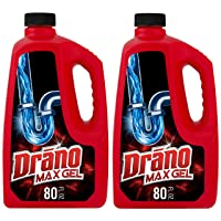 Deals on 2-Pack Drano Max Gel Clog Remover 80 fl oz