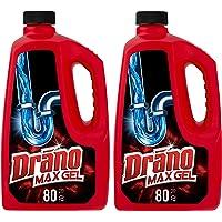 2-Count Drano Max Gel Clog Remover, 80 fl oz