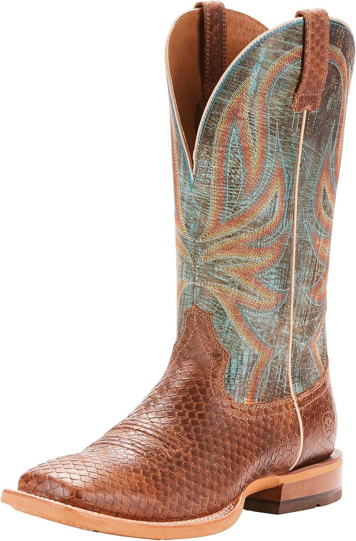 ARIAT Men's Range Boss Diamondback Cowboy Boot Square Toe - 10025114