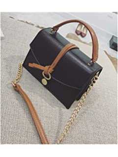 Paddy Meredith Pu Leather Women Messenger Bag Ladies Winter Simple New Chain Crossbody Bags Clutch Shoulder