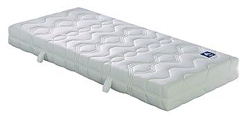 Badenia Bettcomfort Matratze Irisette Lotus Tonnentaschenfederkern H2 90 X 200 Cm Weiß