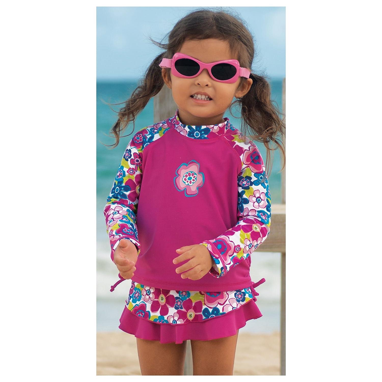 Sun Smarties Butterfly Reusable Swim Diaper Skirt Swimsuit Bottom 3T Blue