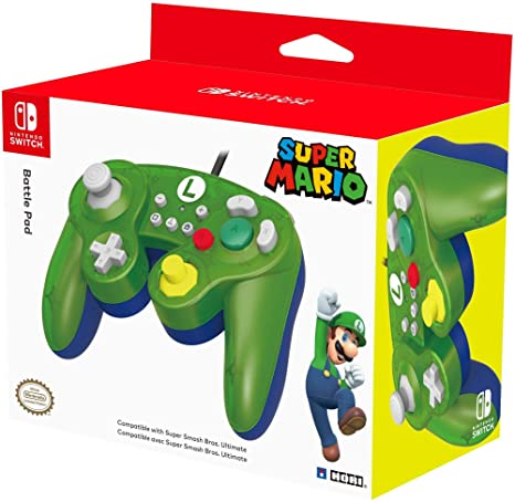 Hori - Battle Pad Luigi (Nintendo Switch): Amazon.es ...