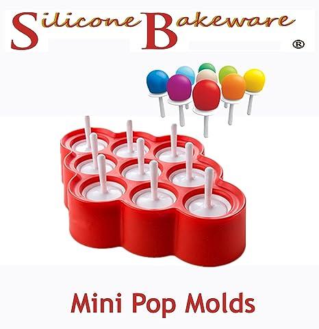 9 Formas Cavity Mini silicona moldes con chupetes glacées ...