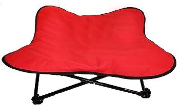 Cama acolchada para perro, elevada, portátil, plegable, ideal para acampada y entrenamiento de Glenndarcy.: Amazon.es: Productos para mascotas