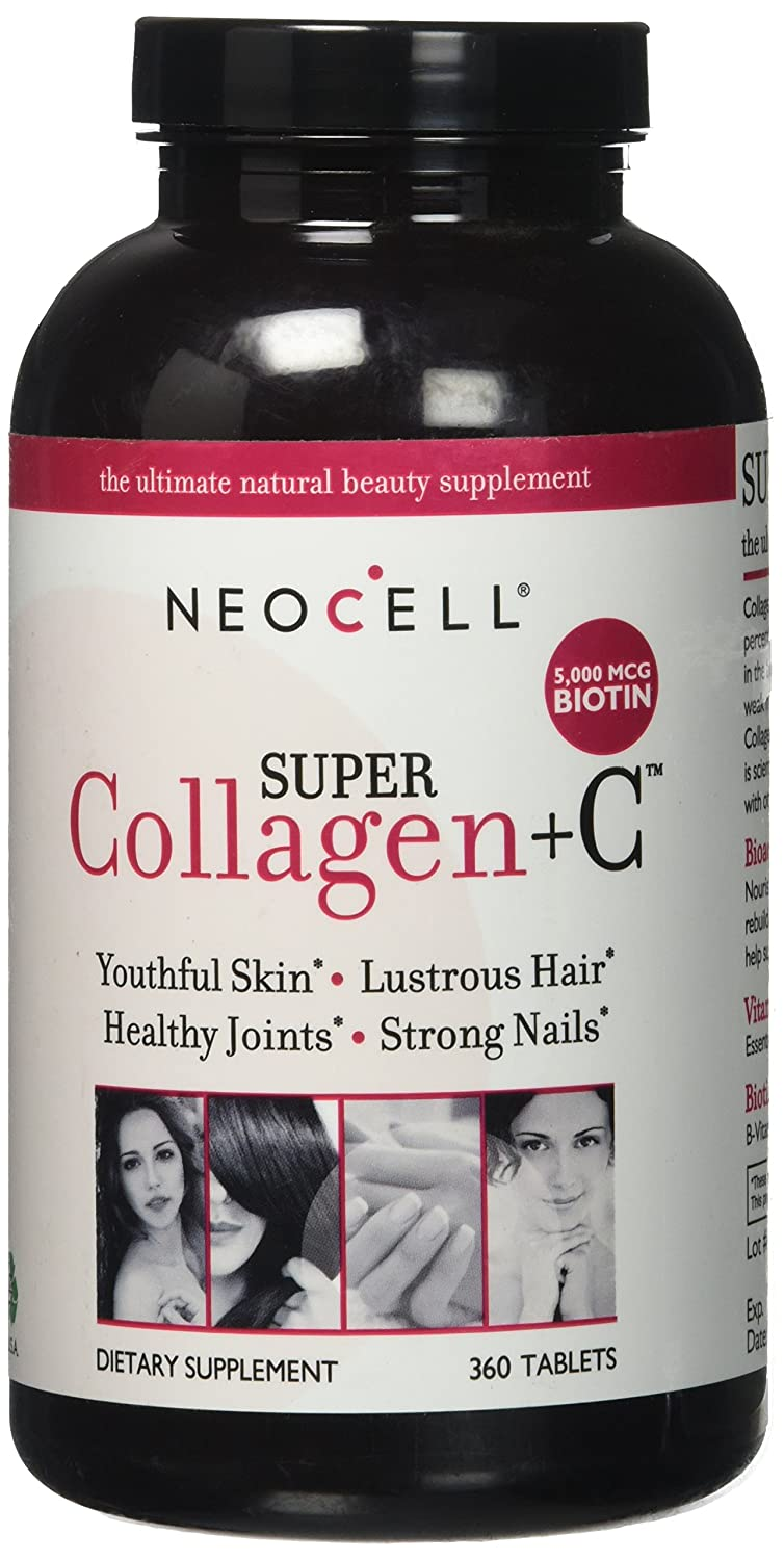 Amazon.com: NeoCell Super Collagen + C 1Pack (360 Count Each): Health & Personal Care