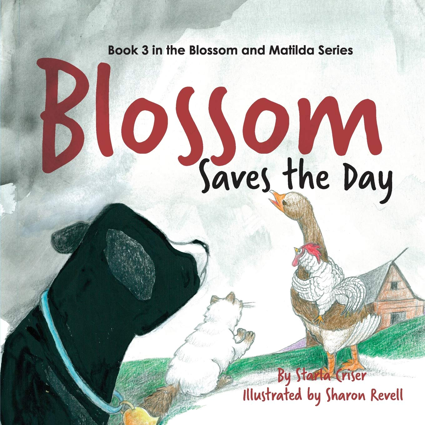 Read Online Blossom Saves the Day: Book 3 in the Blossom and Matilda Series (Volume 3) ebook