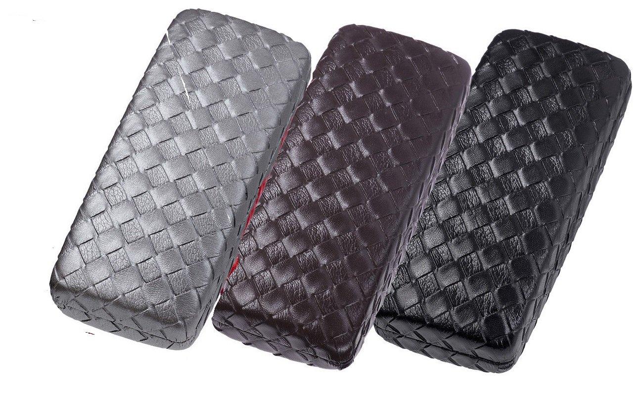 100 Pack Glasses Hard Case - mens women's 160x65x40mm